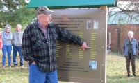 Greene County Temporary Memorial Dedication